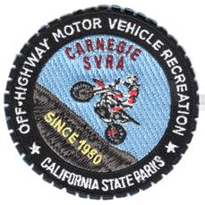 """Carnegie SVRA patch, 3"""""""