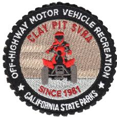 """Clay Pit SVRA patch . 3"""""""