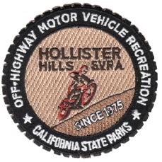 "Hollister Hills SVRA patch . 3"""