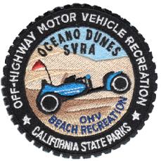 "Oceano Dunes SVRA patch . 3"""