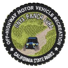 """Onyx Ranch SVRA patch . 3"""""""